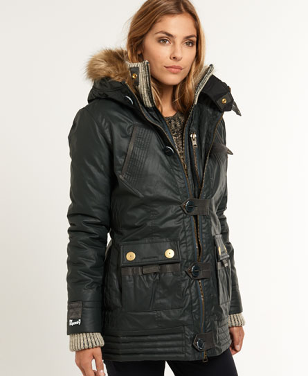 Superdry Alpine Duffle Coat - Women's Jackets & Coats