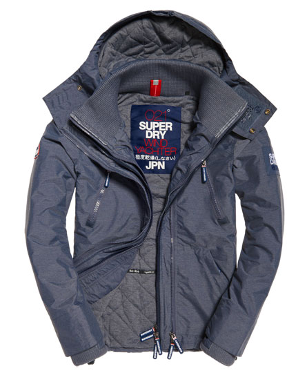 Hooded Wind Yachter Jacket