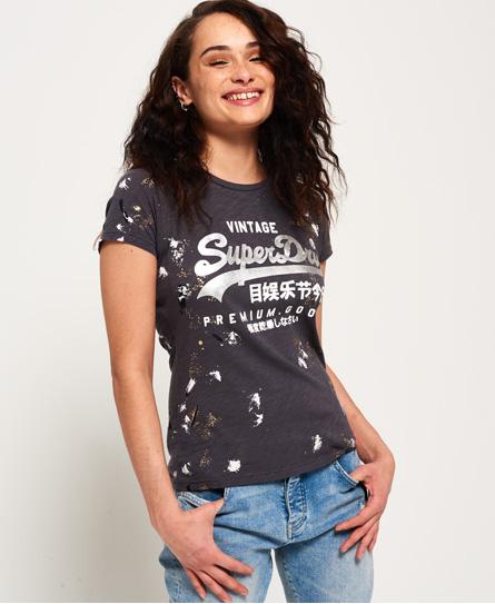 Se Superdry Superdry Premium Goods Doodle T-shirt ved SuperDry