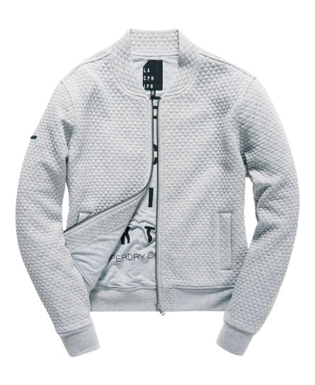Superdry Micro Quilt Bomber Jacket