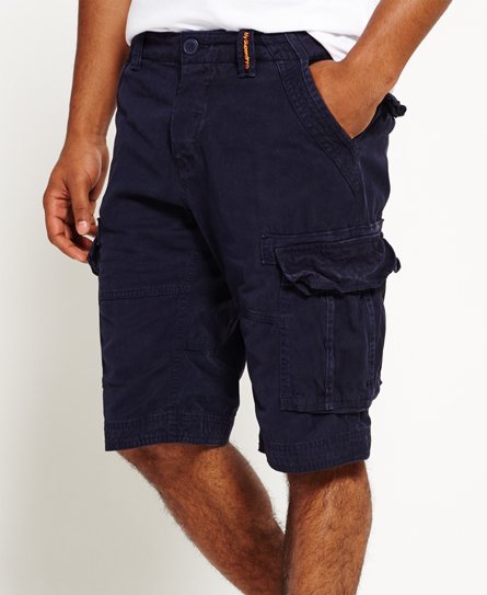truest indigo Superdry Core Cargo Lite Shorts