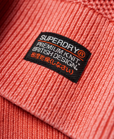 Superdry Garment Dye L.A Textured Crew Jumper