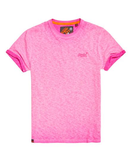 keys rose foncé Superdry T shirt Low Roller; keys bleu marine