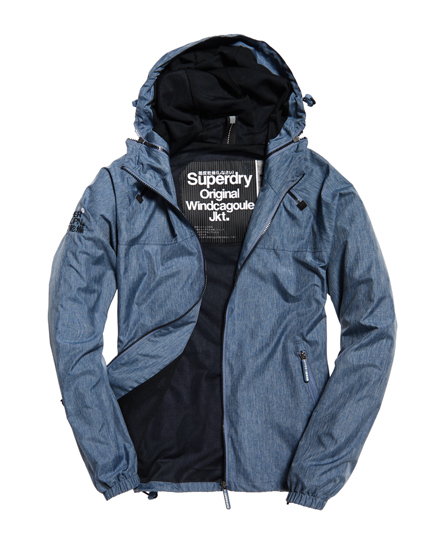 Se Superdry Superdry Dual Zip Through jakke ved SuperDry