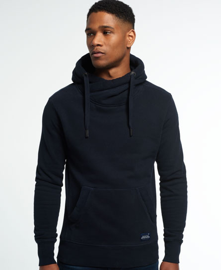 eclipse navy Superdry Crossover Hoodie