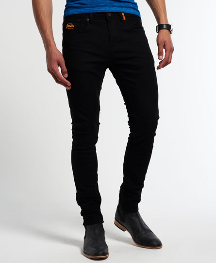 Mens Skinny Jeans Black | Bbg Clothing
