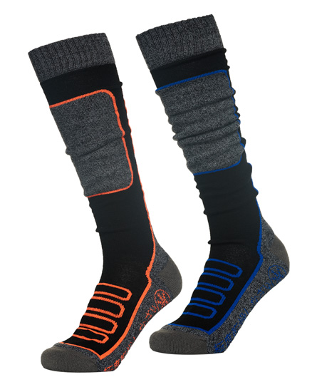 Superdry SD Merino Snow Socks Double Pack
