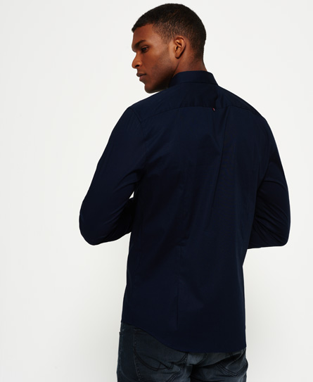 Superdry Tailored Long Sleeved Slim Shirt