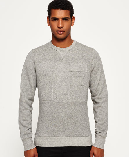 Outlet Store Sweatshirt Store Embossed Crew Neck Top Superdry Fake Cheap Price Discount Amazon UCcuv