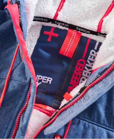 Superdry Veste à capuche Sherpa SD-Windtrekker
