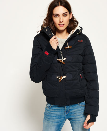 Microfibre Toggle Puffer Jacket