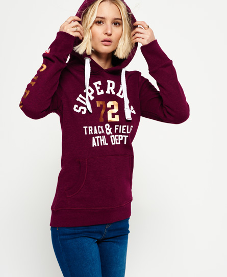 womens hoodies shop hoodies for women online superdry. Black Bedroom Furniture Sets. Home Design Ideas