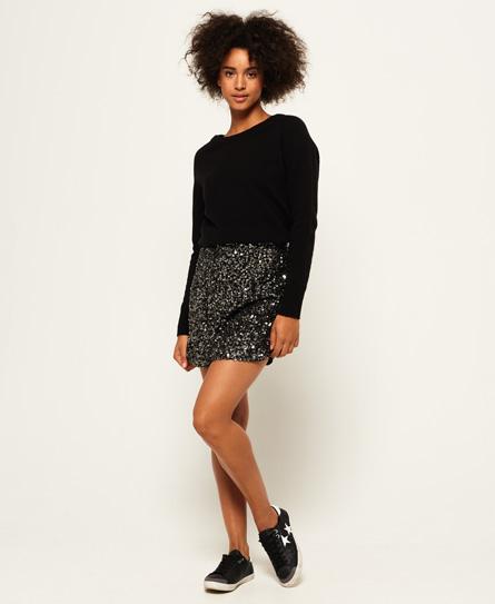 Superdry Hallie Sequin Skirt