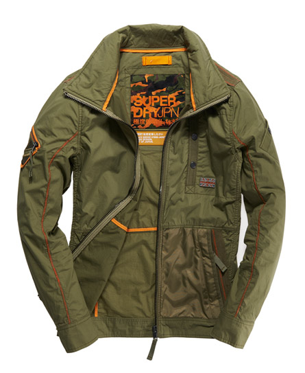 Superdry Ultimate Hybrid Jacket Green