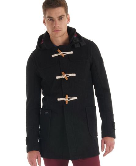 Superdry classic duffle coat