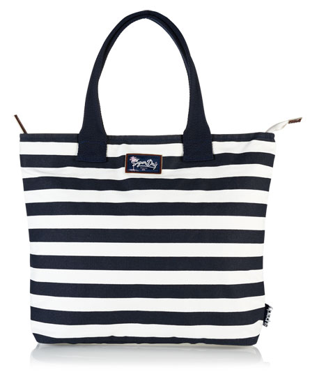 Superdry Summer Time Tote Bag White