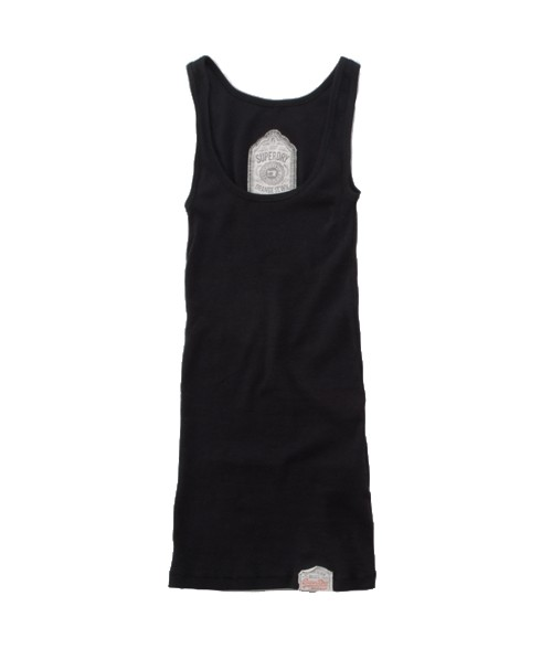 Superdry Classic Tank Top Black