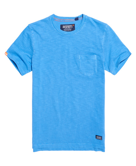 dry mazarine blue Superdry Originals Pocket T-shirt