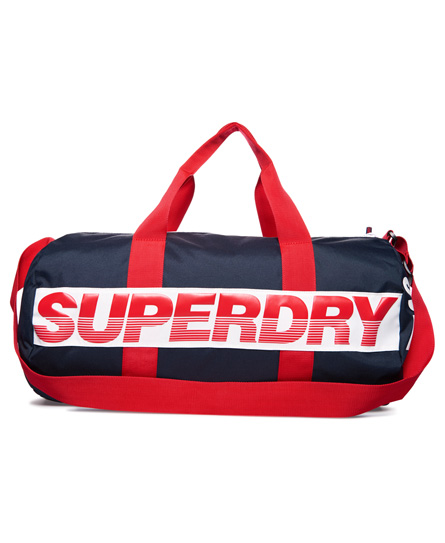 marineblå / optic / rød Superdry International Barrel-bag