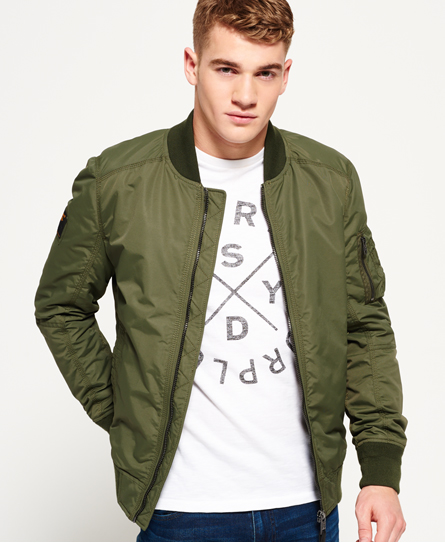 SDR Lite Flight Bomber Jacket
