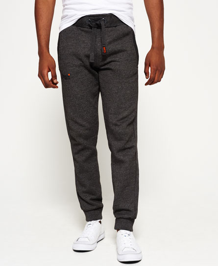low light black grit Superdry Orange Label Moody Jogginghose