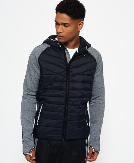 Gym Tech Hybrid Zip Hooded Jacket