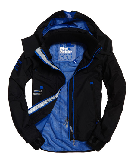 Superdry Hooded SD-Windsprinter Jacket