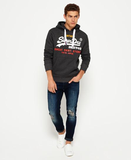 Superdry Dreifarbiges Sweat Shirt Store Hoodie