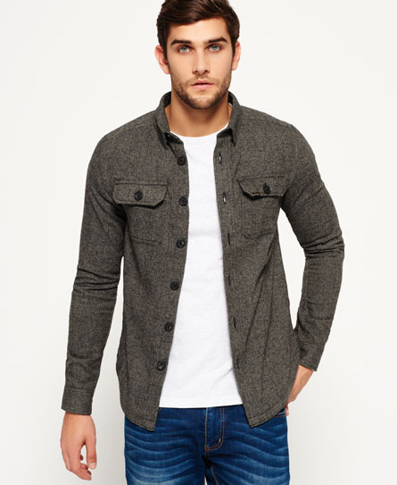 orkney Superdry Camisa de tweed Ultimate