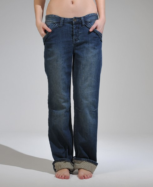 Womens - Brewster Boyfriend Jeans in Trash Wash | Superdry