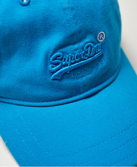 Superdry Vintage Logo Orange Label Wash Cap