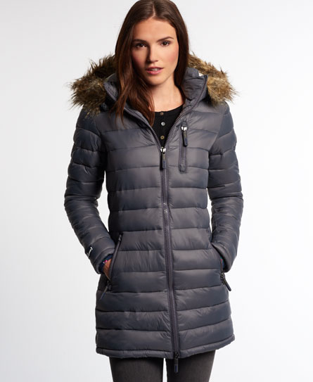 Superdry Happy Fuji Demi Jacket - Women's Jackets & Coats