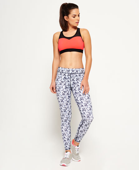abstract blur mono Superdry Core Gym Leggings