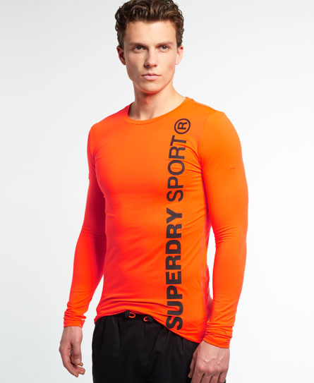 Superdry Gym Sport Runner Langarmshirt