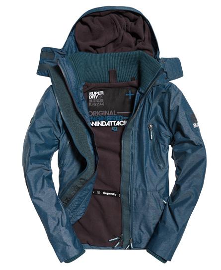 Superdry Superdry Polar Wind Attacker jakke med hætte