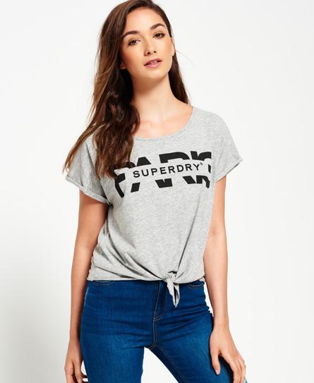 Superdry Superdry T-shirt med knude
