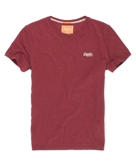 Superdry Embroidered T-shirt Red