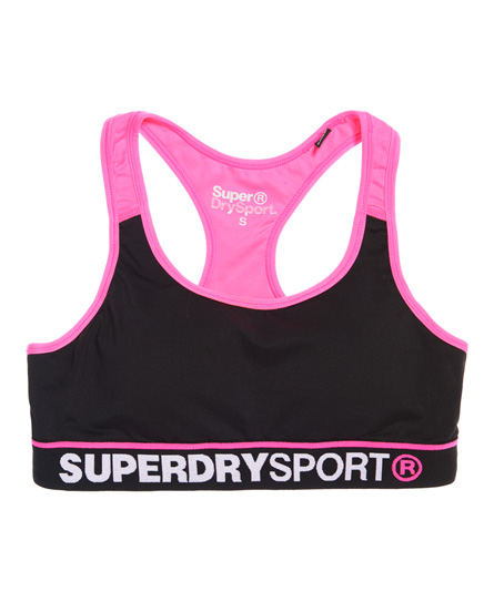 Superdry Gym Panel Sports Bra