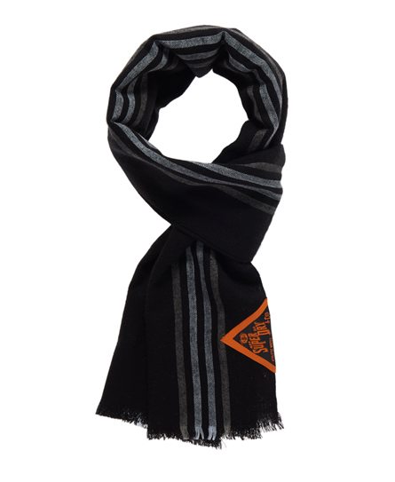 Superdry Super Blanket Scarf Black