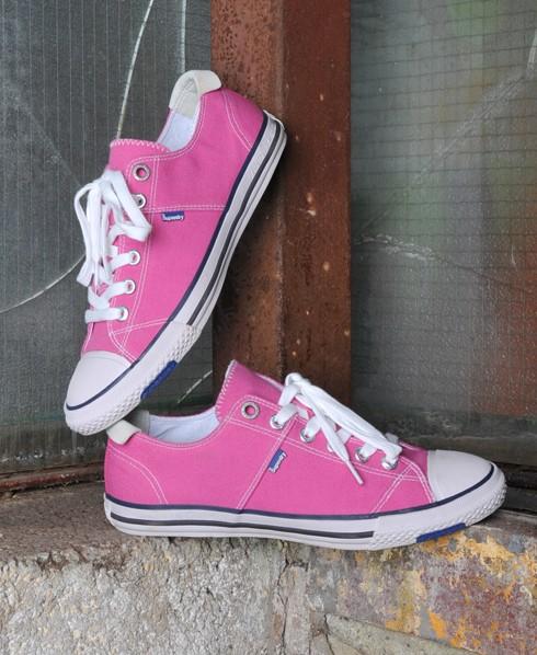 Superdry Super Series Lo Top Pink