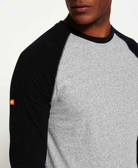 Superdry Orange Label Grit Baseball T-shirt