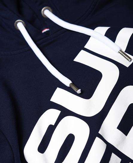 Superdry Sports Diagonal hættetrøje