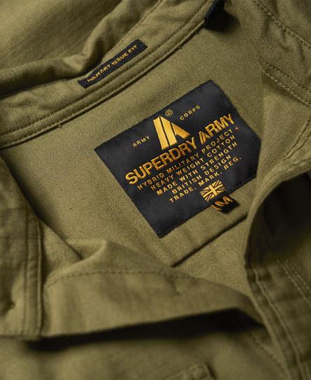 Superdry Army Corps skjorte med lange ærmer