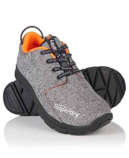 noir chiné Superdry Chaussures de course Scuba