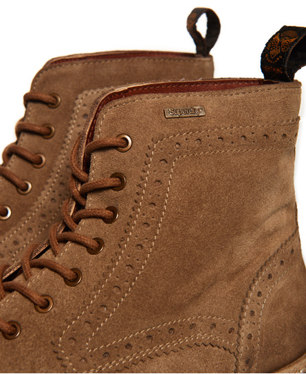 Superdry Brad Brogue Stamford Boots