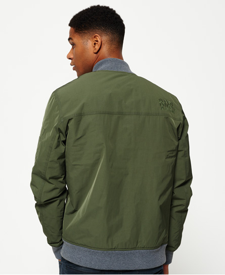 Superdry Wax Flight Bomber Jacket