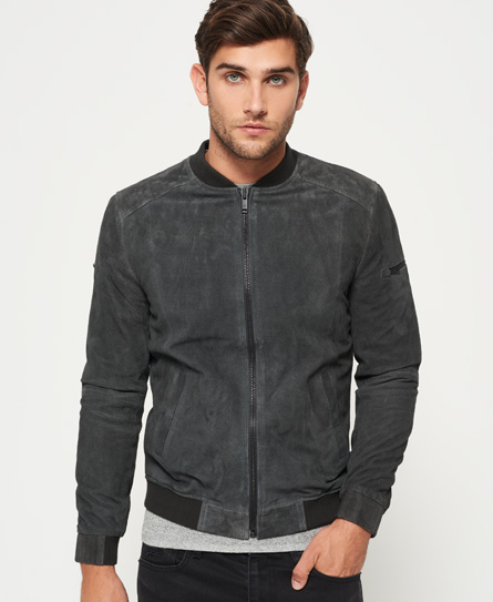 Superdry Ryan Sports Suede-flygerjakke