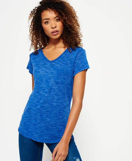 bleu sport code Superdry T-shirt Slinky Sport Essential