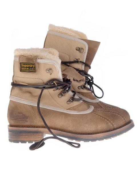 Superdry Swamp Boot Brown