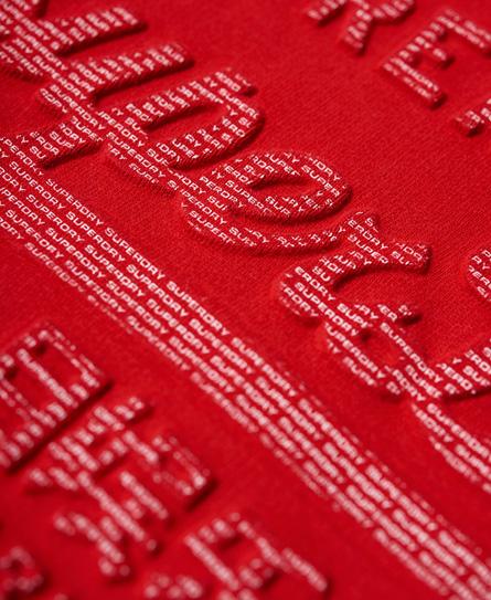 Superdry Vintage Logo Embossed Hoodie